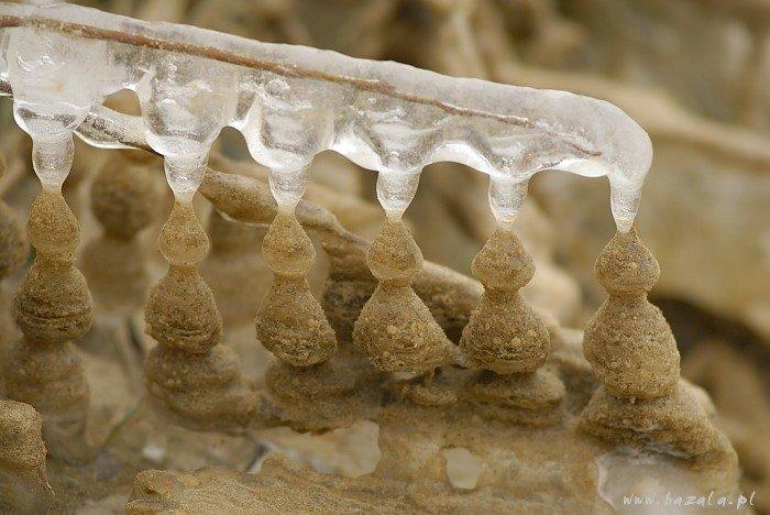 Zjawisko niesamowite – piaskowy lód na Wiśle
